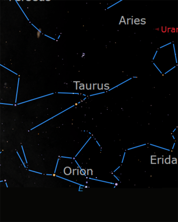 """<p class=""""text-center"""">Taurus and Orion at 2AM on August 31, 2020</p>"""